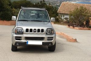 alquiler coches Jimny cabrio Formentera