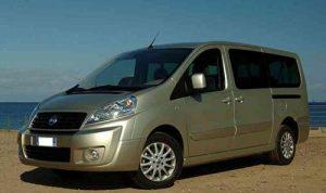 Alquiler Nissan NV300 9 Plazas Formentera