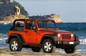 Alquiler Formentera Jeep Wrangler Automatico